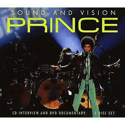 PRINCE CD +  DVD Box Set Sound And Vision Interviews + DVD SEALED • 9.95£