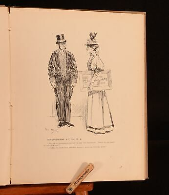 1903 Phil May Sketches From Punch Caricatures Illustrated 1st • 36£