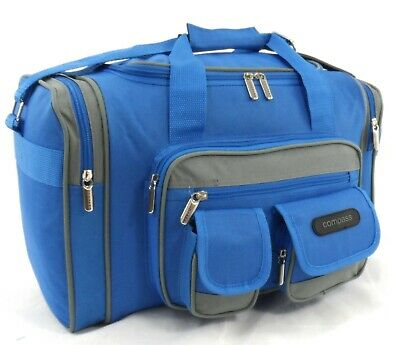 New Holdall Hand Luggage Cabin Approved Flight Bag Overnight Case Travel Bag UK • 11.99£