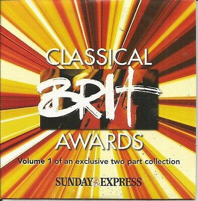 £1.29 • Buy Classical Brit Awards (2004) - Disc 1 Of 2 - Sunday Express Promo Music Cd