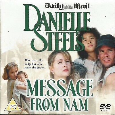 Danielle Steel's - Message From Nam - Mail Promo Dvd • 1.59£