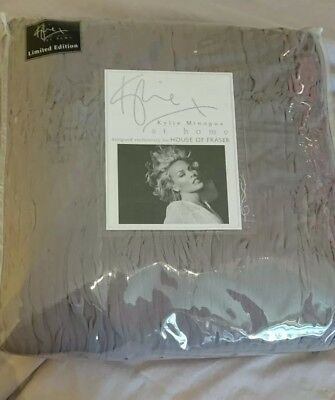 Kylie At Home Orion Bed Throw Sliver Limited Edition Bnib Minogue Luxury  • 80£