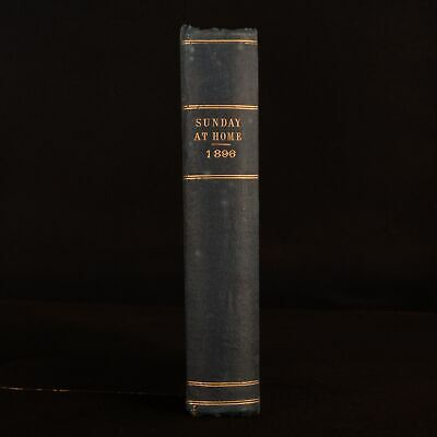 1896 The Sunday At Home Religious Tract Society Illustrated Uncommon • 48£