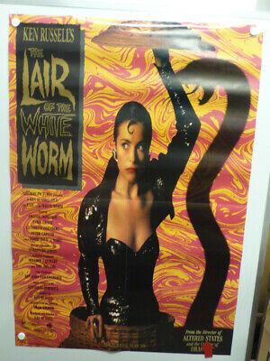 LAIR OF THE WHITE WORM Amanda Donohoe HUGH GRANT Home Video Poster 1988 • 7.67£