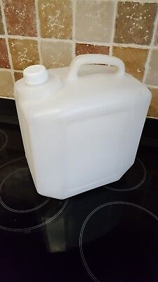 10L Litre Food Grade / Water Container HDPE, Used • 11.95£
