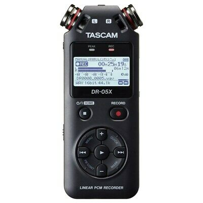 £80.48 • Buy Tascam DR-05X Handheld Stereo Recorder And USB Audio Interface
