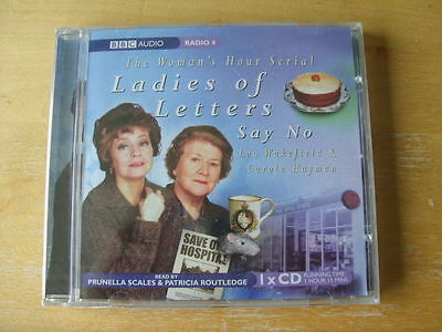 £4.50 • Buy The Woman's Hour Serial Ladies Of Letters Say No Cd Bbc Comedy Audio Book