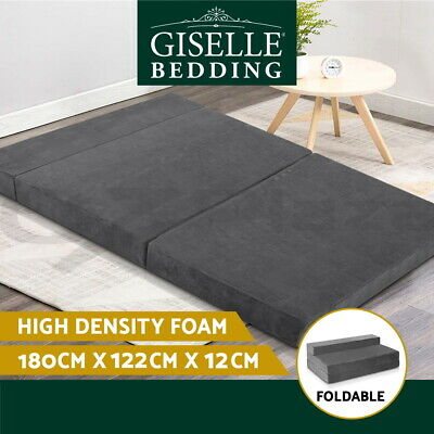AU129.95 • Buy Giselle Bedding Folding Mattress Foldable Portable Bed Camping Pad Foam Double