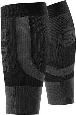 £11.99 • Buy Skins Seamless Compression Calf Guards Black Unisex Improves Blood Flow Recovery