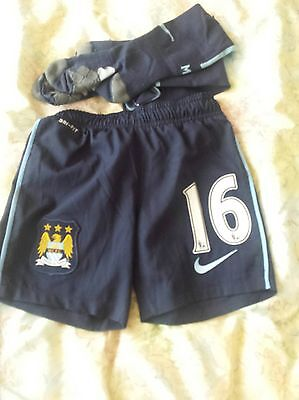 £9.99 • Buy  Manchester City Football Shorts +socks  For Kids Size 6-8  Years No 16 Nike