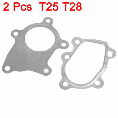 $ CDN14.66 • Buy 2in1 Stainless Steel 5 Bolt T25 T28 Turbo Downpipe Outlet Exhaust Flange Gasket