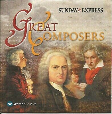 £1.29 • Buy Great Composers - Sunday Express Promo Music Cd