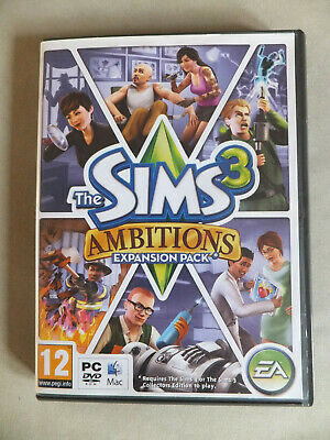 The Sims 3 Ambitions Game For PC/mac • 4.99£