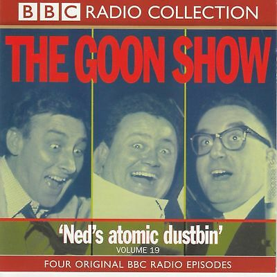THE GOON SHOW 'NED'S ATOMIC DUSTBIN'  Vol 19 2 X CD PETER SELLERS SPIKE MILLIGAN • 4.99£
