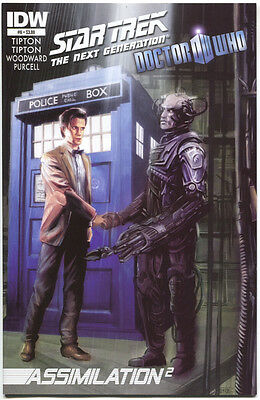 Star Trek Next Generation Doctor Who Assimilation 2 6 A IDW 2012 NM  • 2.79£