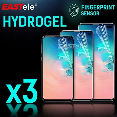AU7.95 • Buy 3x For Samsung Galaxy S10 5G S9 S8 Plus Note 10 9 HYDROGEL Screen Protector