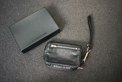 AU150 • Buy Alexander Wang: Black Wristlet Leather Bag Clutch