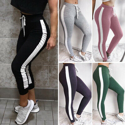 AU14.99 • Buy Women Sports YOGA Pants Workout Gym Fitness Leggings Athletic Stretch Trousers A