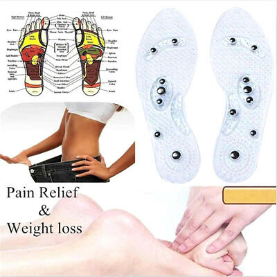 $ CDN4.59 • Buy 1Pair MindInSole Acupressure Magnetic Massage Feet Therapy Reflexology Relief CC