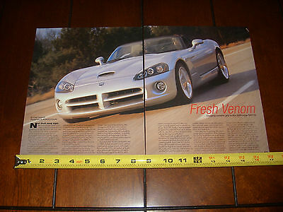 $12.95 • Buy 2004 Dodge Viper Srt 10 - Original Article