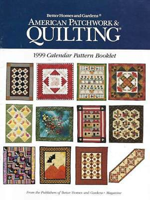 $1.99 • Buy 1999 American Patchwork & Quilting Calendar 12 Great Patterns