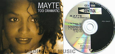 PRINCE MAYTE CD Too Dramatic EURO 4 Track EXTENDED Mixes MINT / UNPLAYED • 11.95£