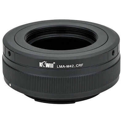 $38.90 • Buy M42 Mount Lens To Canon Rf Mount Body Adapter
