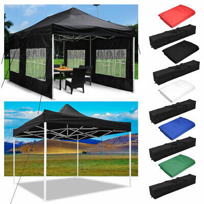 $114.98 • Buy EZ Pop Up Canopy Outdoor Commercial Sunshade Wedding Party Instant Tent 10' 20'