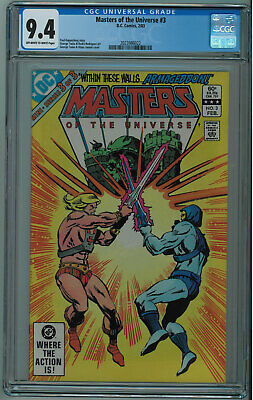 $99 • Buy Masters Of The Universe #3 3rd Best Cgc Grade Seldom Seen Or Sold Ow/w Pgs 1983
