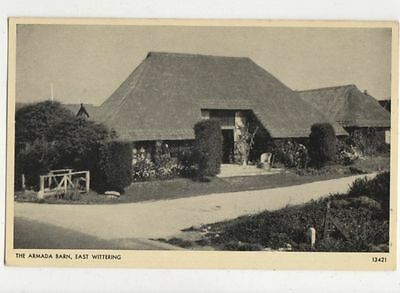 The Armada Barn East Wittering Vintage Postcard 713a • 4.99£