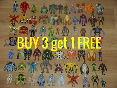 Ben 10 Figures 10cm Action Figures CHEAP From £1.49 FREE P&P_BUY 3 Get 1 FREE • 14.99£