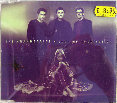 The CRANBERRIES CD Just My Imagination 1 TRACK PROMO W/ REL DATE Stcker UNPLAYED • 8.95£