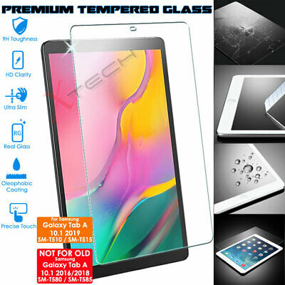 £5.95 • Buy TEMPERED GLASS Screen Protector For Samsung Galaxy Tab A 10.1  2019 (SM-T510)
