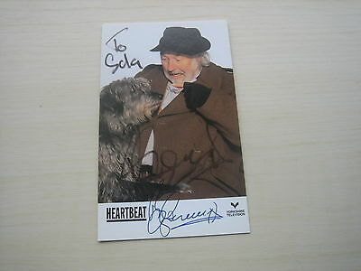 Bill Maynard (Heartbeat) Hand Signed RARE **FREE POST** • 25£