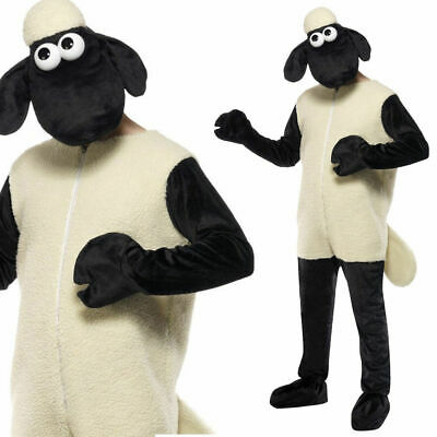 £68.99 • Buy Shaun The Sheep Costume Licensed Farm Animal Fancy Dress Costume Stag Hen Adult
