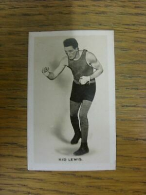 20/01/1923 Trade Card: Boxer - Kid Lewis [Card No.03] Union Jack - Monarchs Of T • 4.99£
