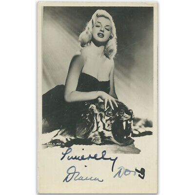 Diana Dors  Signed Autographed Photograph • 295£