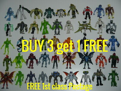 Ben 10 Creation Chamber Figures Toy BUY 3 Get 1 FREE + FREE 1st Class Postage • 9.99£