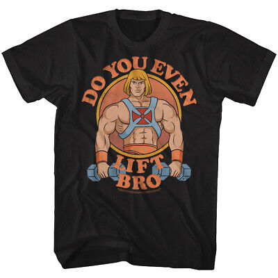 $20.70 • Buy Masters Of The Universe He Man Do You Even Lift Bro Adult T Shirt
