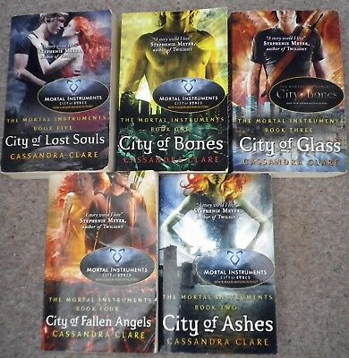 The Mortal Instruments Collection Cassandra Clare Books 1 - 5 Paperbacks • 9.99£