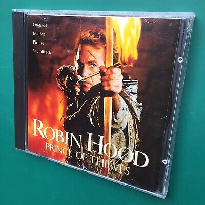 Michael Kamen ROBIN HOOD: PRINCE OF THIEVES Film Soundtrack OST CD Alan Rickman • 16£