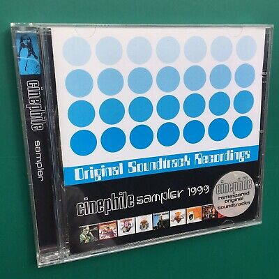 Roy Budd CINEPHILE SAMPLER 1999 CD Get Carter Wild Geese Sinbad Film Soundtracks • 16£