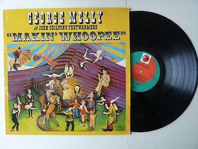 George Melly And John Chilton's Feetwarmers  Makin' Whoopee  Signed Vinyl LP • 9.99£