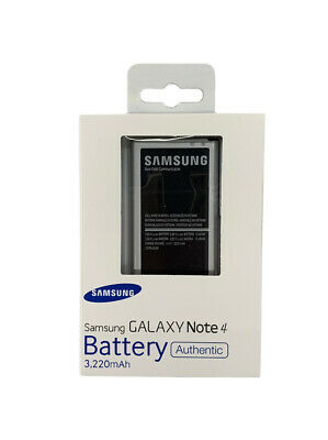 AU29.99 • Buy OEM Original Samsung Galaxy Note 4 N910 Battery Replacement EB-BN910BBE