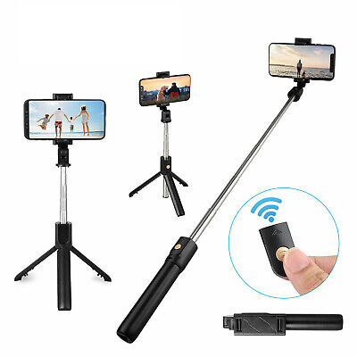 $11.97 • Buy Extendable Handheld Desk Selfie Stick With Monopod Stand Tripod For Cell Phone