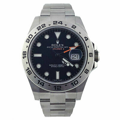 $ CDN12908.03 • Buy ROLEX Explorer II 42mm 216570 Stainless Steel Black GMT Watch