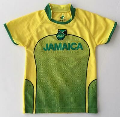69c7853f671 Jamaica Football Federation Yellow Kids Youth 6-8 Jersey Shirt By Sportz  Soccer • 19.99