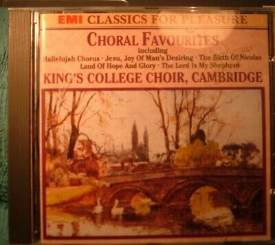£2 • Buy CHORAL  FAVOURITES  .Kings College Choir ,cambridge