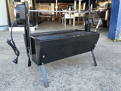 AU109 • Buy New Portable Bbq Spit Rotisserie Barbeque Grill - C03