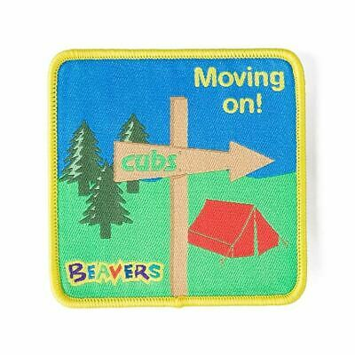 £2.50 • Buy Beaver Scout Moving On Fun Badge NEW